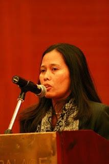 Sambutan Faiza Mardzoeki
