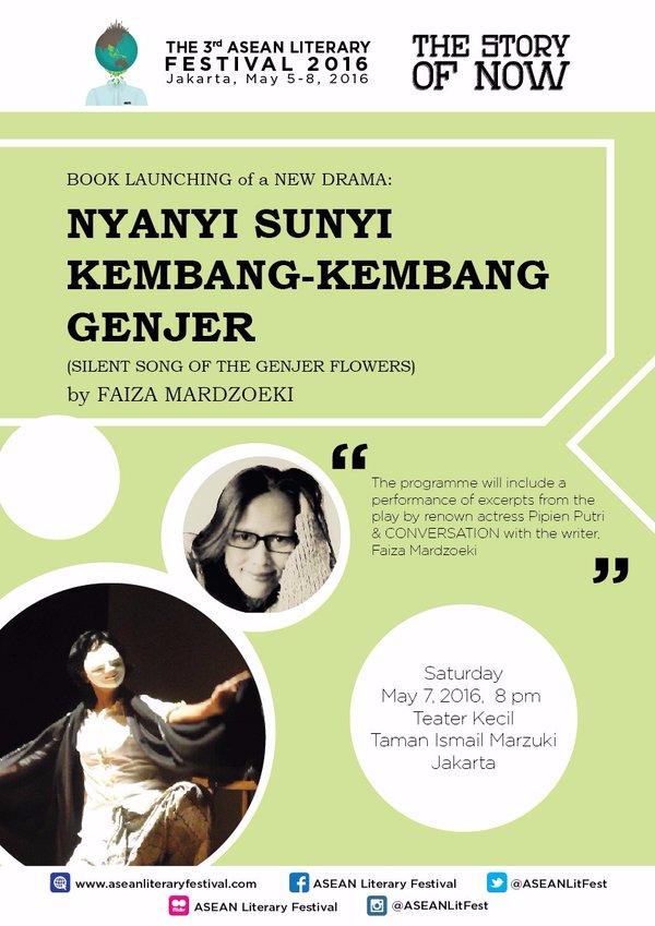 BOOK LAUNCHING AND DISCUSSION 'NYANYI SUNYI KEMBANG-KEMBANG GENJER'