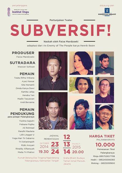 Subversif!poster